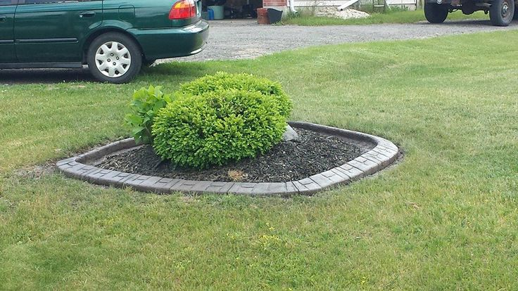 The beauty of continuous curbing is that is customized to the shape of your choice, check out this rounded square!