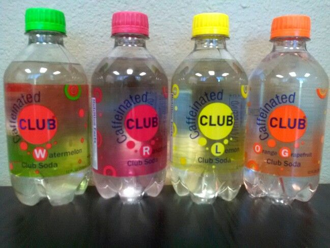 Caffeinated Club Soda - 0 calories and grams of sugar.  34 milligrams of caffeine. Flavors: Orange Grapefruit, Raspberry, Lemon, Watermelon.  http://www.caffeinatedclub.com  Case of 24 @ $18.99 - Galleria Foods Wholesale Market  18313 Colima Road, Rowland Heights, CA  91748