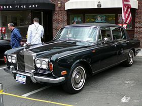 The Rolls-Royce Silver Shadow is a luxury car that was produced in Great Britain in various forms from 1965 to 1980.