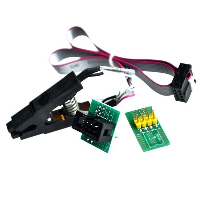 High Quality SOIC8 SOP8 Test Clip For EEPROM 93CXX//25CXX//24CXX In-circuit
