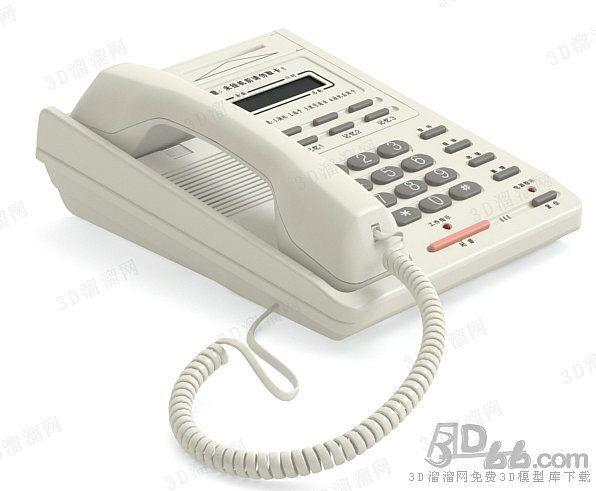 电话3d模型(66430)