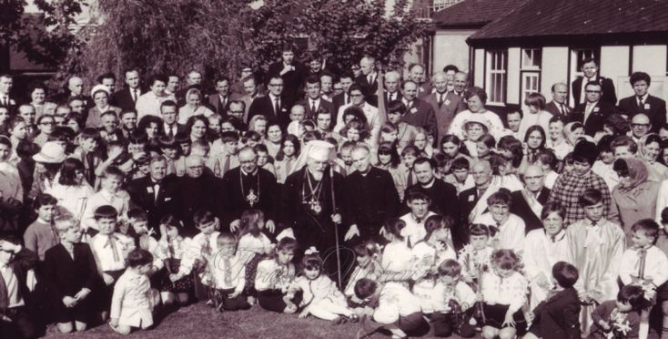 Ukrainians in Coverntry-J. Slipyj's visit
