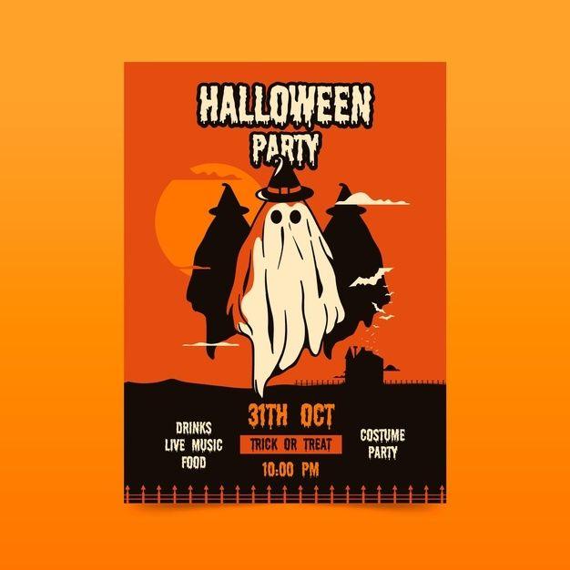 Halloween 2020 Poster Download Download Halloween Party Poster for free in 2020 | Halloween party
