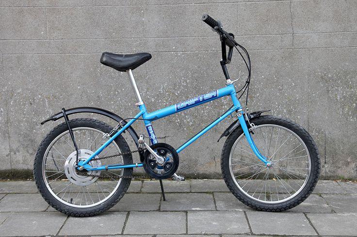 Raleigh Grifter MK2 Blue 1980.  My second bike after the Chipper.