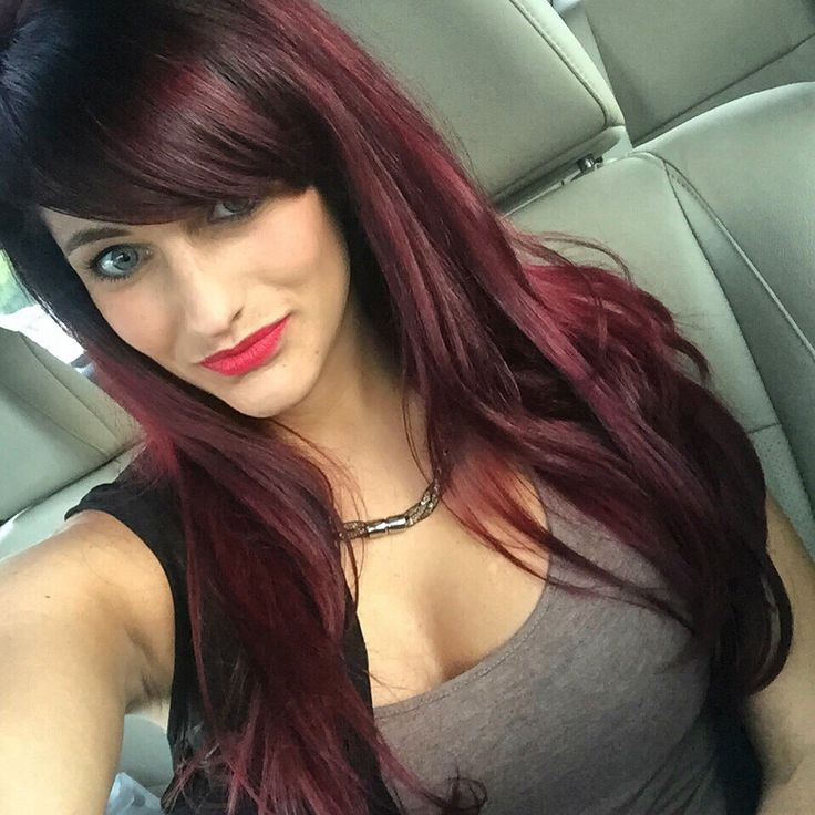 Burgandy Red Hair Fall Hair Color Layers Pinterest