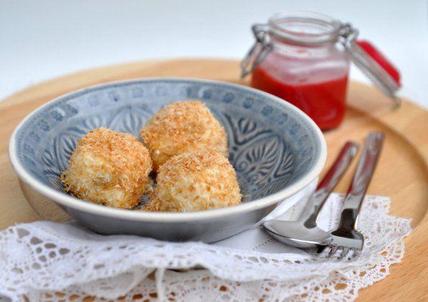 Gluténmentes, kókuszmorzsás túrógombóc recept - Masni