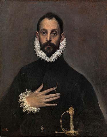 El Greco. Óleo sobre lienzo. (h. 1580). Museo del Prado.
