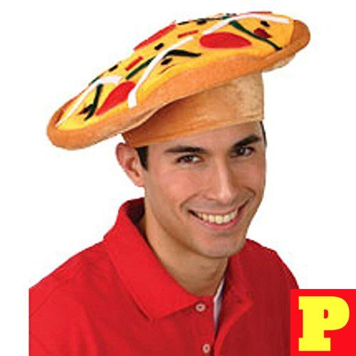 Adults Pizza Costume Hat