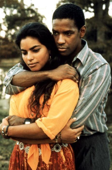 """Sarita Choudhury & Denzel Washington - """"Mississippi Masala"""" (1991)"""