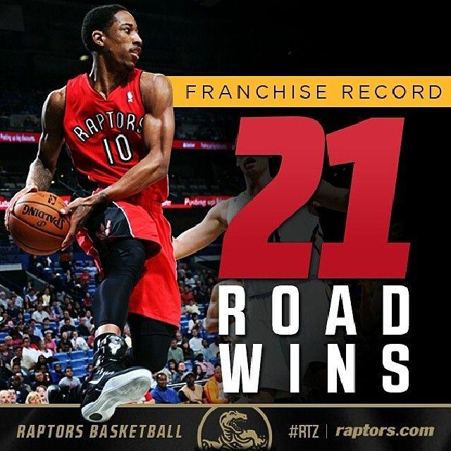 #Raptors earn a franchise-record 21st road win vs. the Bucks in Milwaukee on Saturday. #RTZ #NBA #Toronto #Canada #Basketball