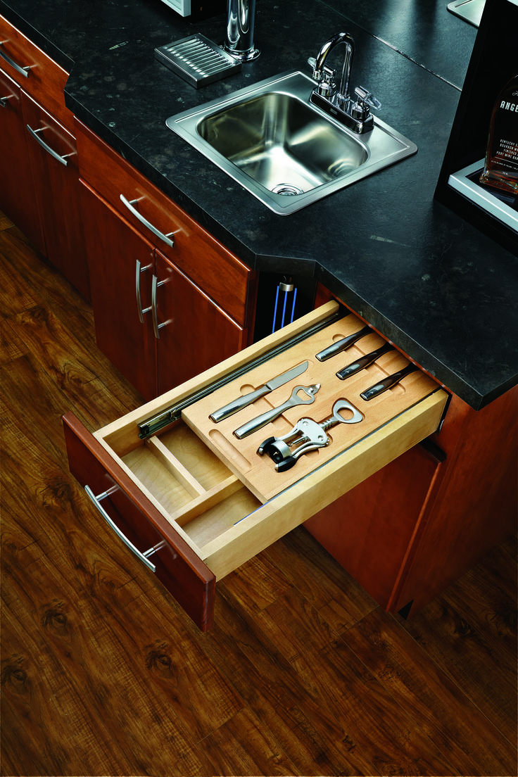 Tin bread box drawer insert - This 15 Pre Assembled Bar Utility Drawer Box Comes Complete With Blumotion Soft