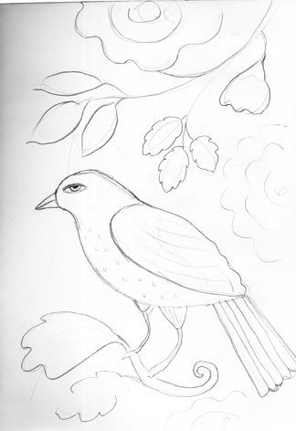 birdandflower design
