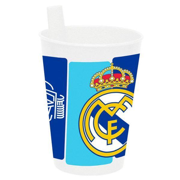 VASO PLASTICO REAL MADRID Este artículo lo encontrará en nuestra tienda on  line de complementos www.worldmagic.es info 951381126 Para lo que necesites  a su ... f101d9ef22b34