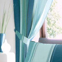 Teal Finley Pencil Pleat Curtains | Dunelm Mill