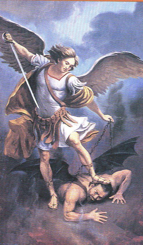 san miguel arcangel | ... DE SAN MIGUEL ARCÁNGEL, SAN GABRIEL ARCÁNGEL Y SAN RAFAEL ARCÁNGEL