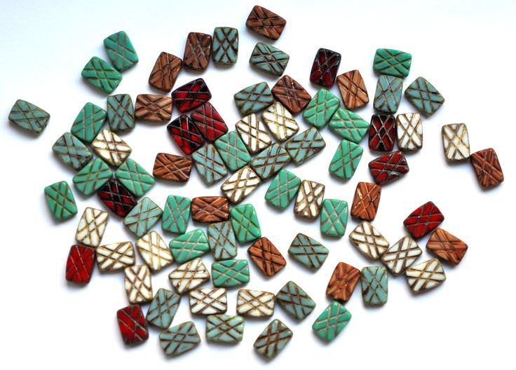 Table cut beads