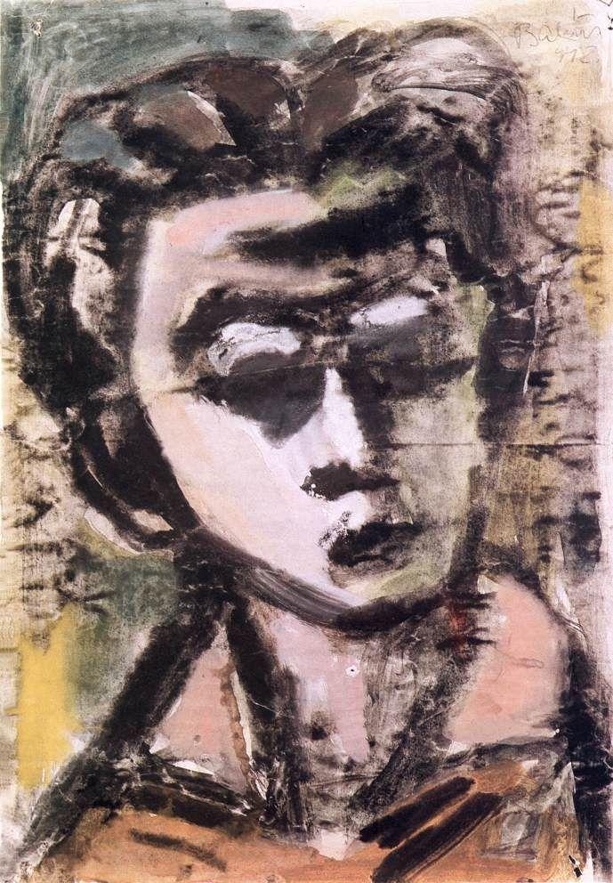 BÁLINT Endre -  Önarckép 1942