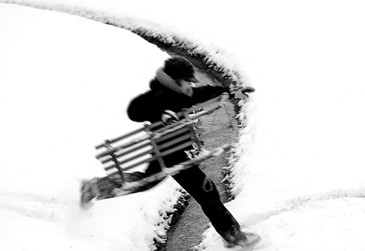 jump #snow #white #child #photo #tommymorosetti