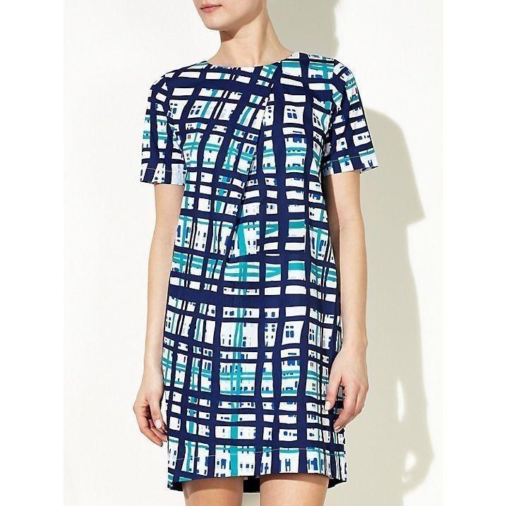 Kin by John Lewis Pleat front dress NEW