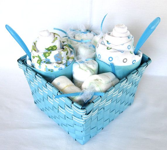 Turtle Sundae Gift Set  Baby Shower Gift  by SweetBabySprinkles