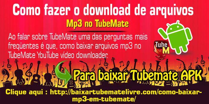 Mas antes de começar com essa questão de como baixar arquivos mp3 na versão 2.2.9 do TubeMate, vamos falar sobre o aplicativo TubeMate em si. O TubeMate é um dos aplicativos de download de vídeos YouTube mais populares no mercado de dispositivos Android.