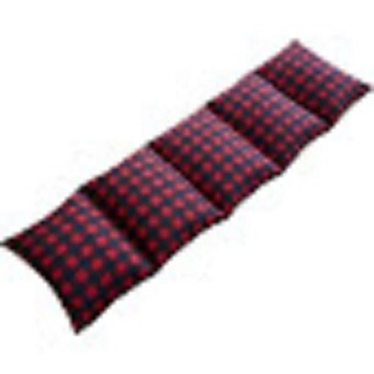 Caterpillow Body Pillow Slip Cover for Floor or Bed Red Black Holds 5 Pillows #Caterpillow
