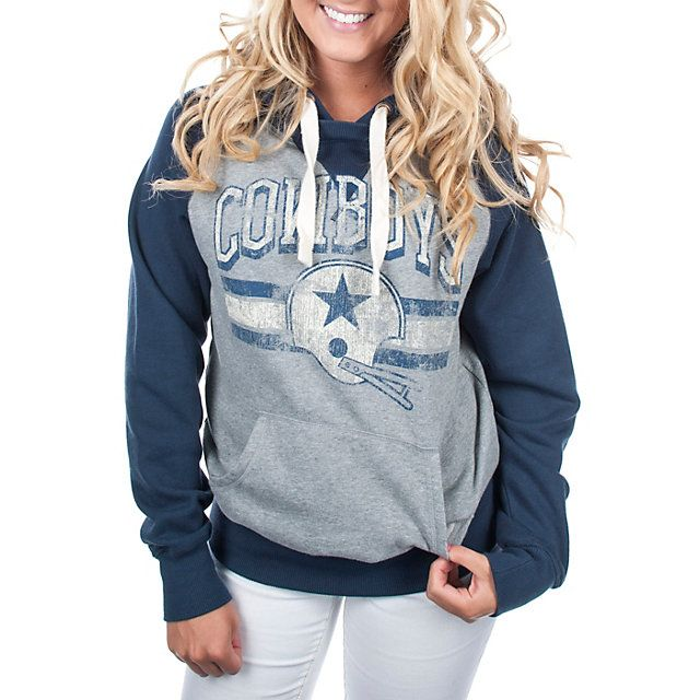 Dallas Cowboys Womens Barrister Hoody