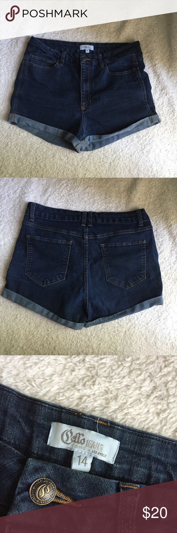 Women's high waist jean shorts Worn a few times, in great condition! Shorts Jean Shorts