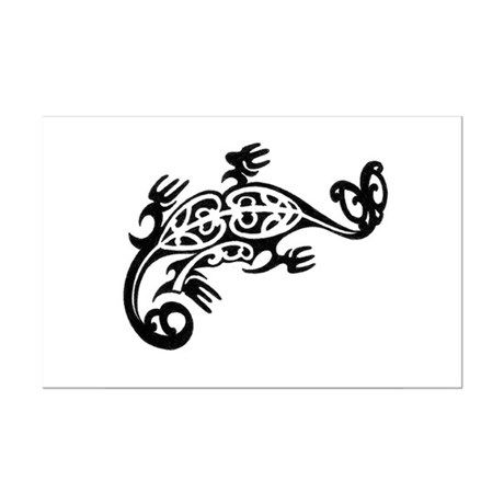 Maori Tribal Dragon Tattoo Design by reddragondesign