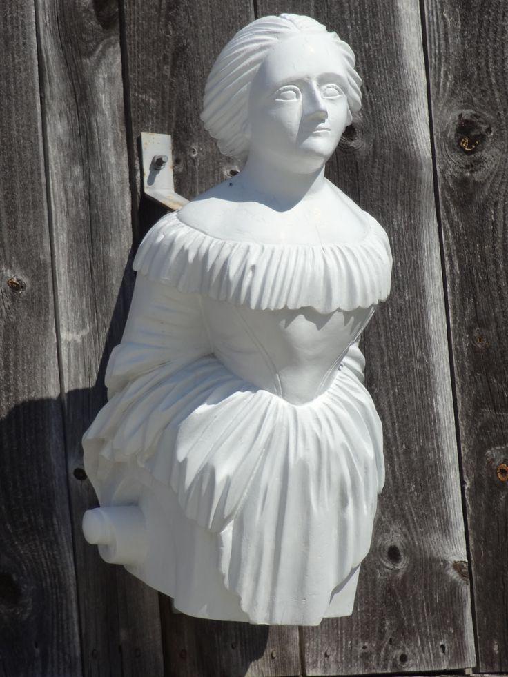 Figurehead from tall ship, Mystic