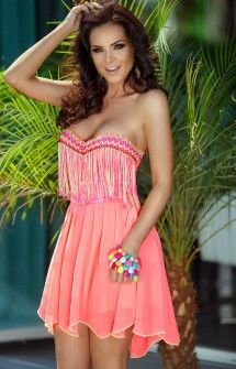 Rochie Electric Neon