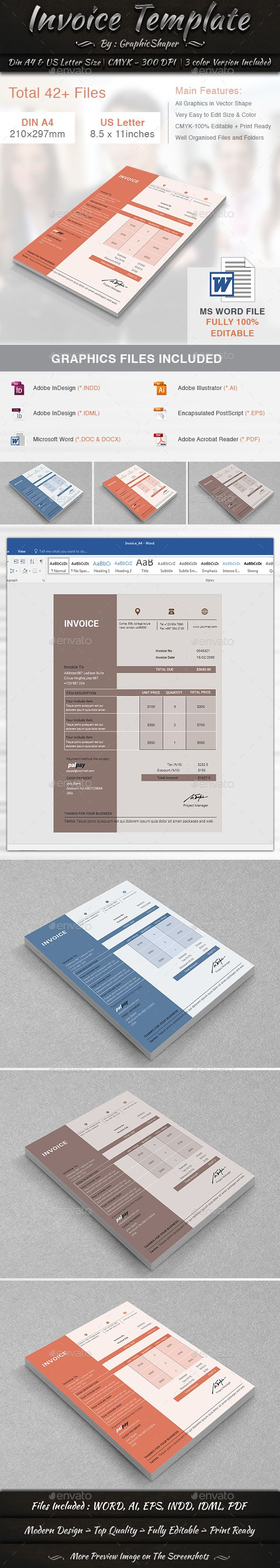 free proposal template%0A  Invoice Template   Proposals  u     Invoices  Stationery