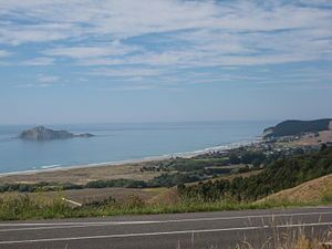 Waimarama, Hawkes Bay, Hastings District enjoy  as a seaside recreational beach, the strip of coast ...