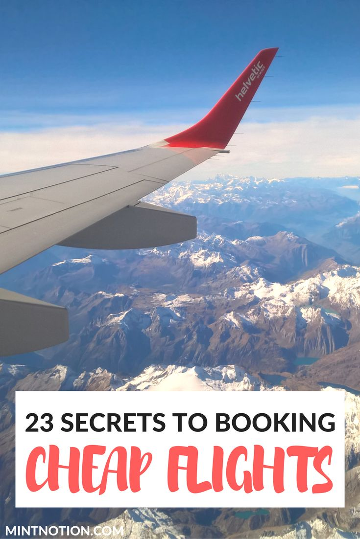 23 secrets to booking cheap flight tickets. Find out the best ways to save big on airfare and travel more domestically and internationally.