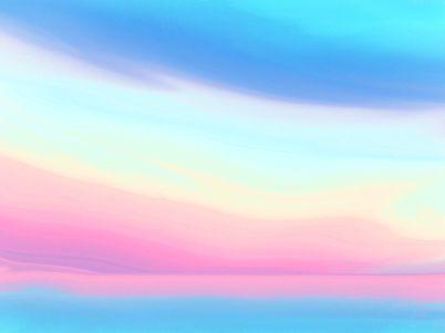 sky, céu, background, nuvens, colorido, pattern, abstrato, ilustração, design, illustration, arte, arte digital, textura, azul - O CÉU COLORIDO » Tatiana Gomes