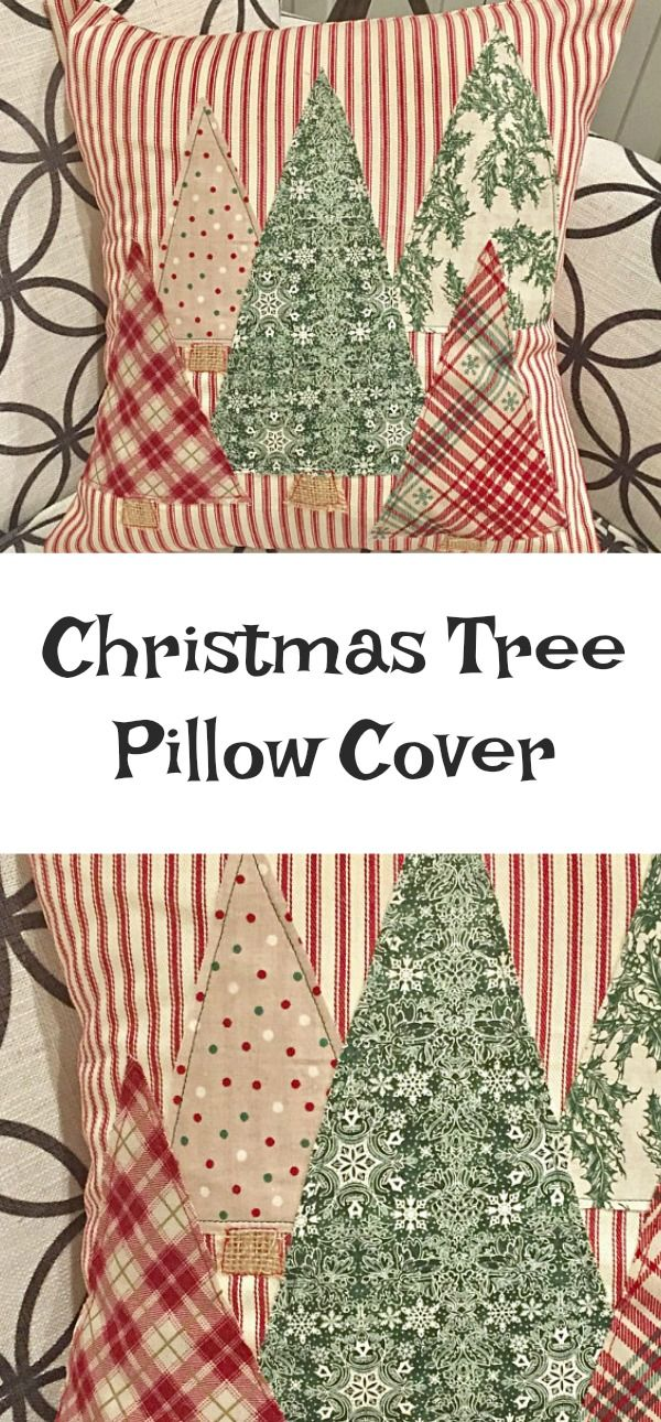 Christmas Tree Pillow Cover | Farmhouse Christmas Decor | I love this cute pillow! #christmas #christmasgifts #ChristmasDecor #christmastime #ChristmasTree #rusticdecor #farmhousestyle #farmhousedecor #pillows #pillowcovers #PillowCover #etsy #etsyfinds #affiliatelink
