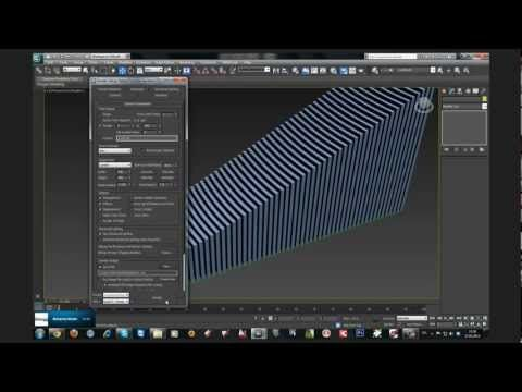 3DS Max The Wire Parameters - YouTube