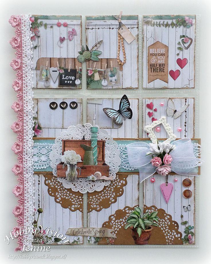 Jenine's Card Ideas: Pocket Letter Love & Home