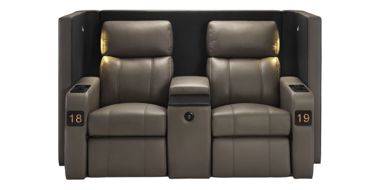 Specifically Designed For Maximum Style And Comfort, The Beautifully  Crafted Verona Reclining Cinema Chair Is Available As Either A Single Or  Twin Seat.
