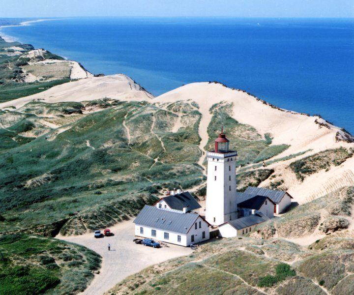 Rubjerg Fyr - Lighthouse-Jutland Zo als het ooit was !  I was here in 2005
