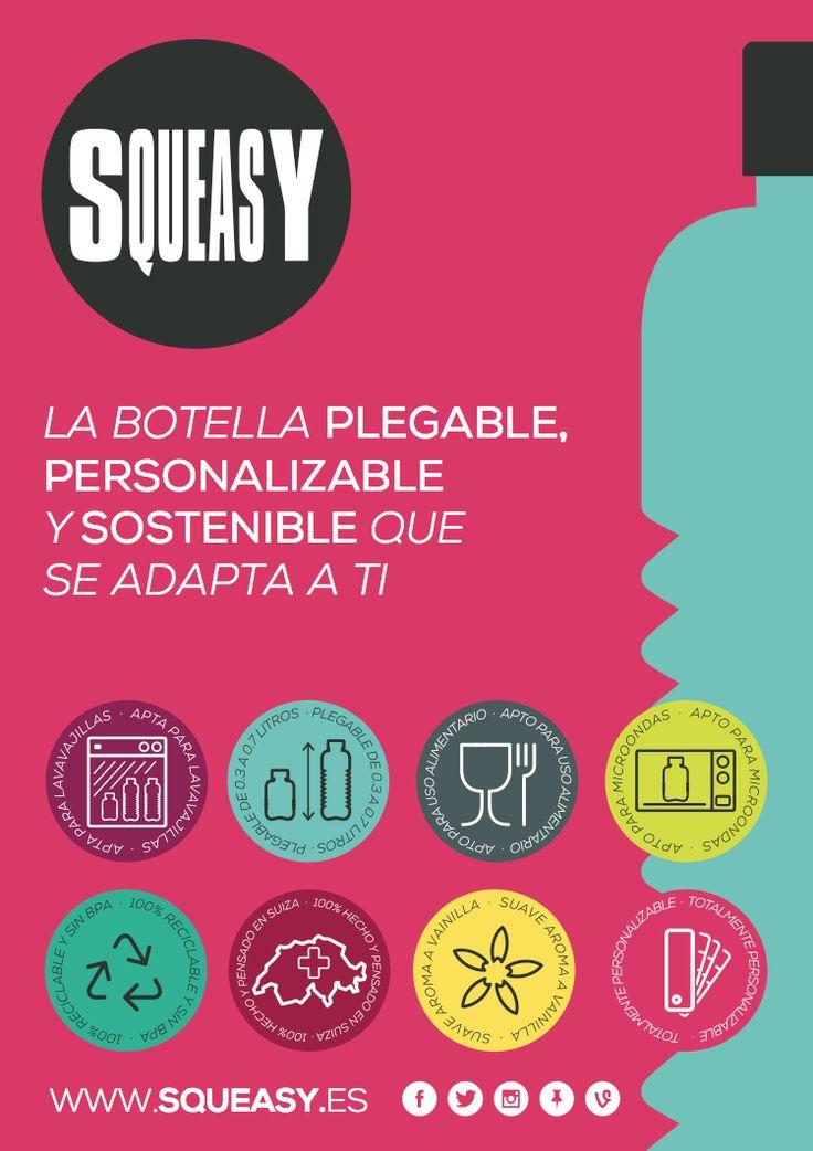 Poster Squeasy Spain  Toda la información en www.squeasy.es