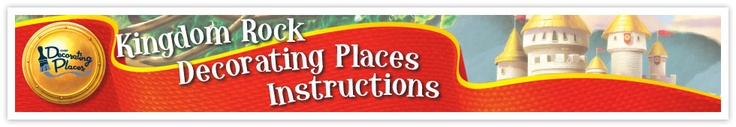 Kingdom Rock Decorating Places Instructions