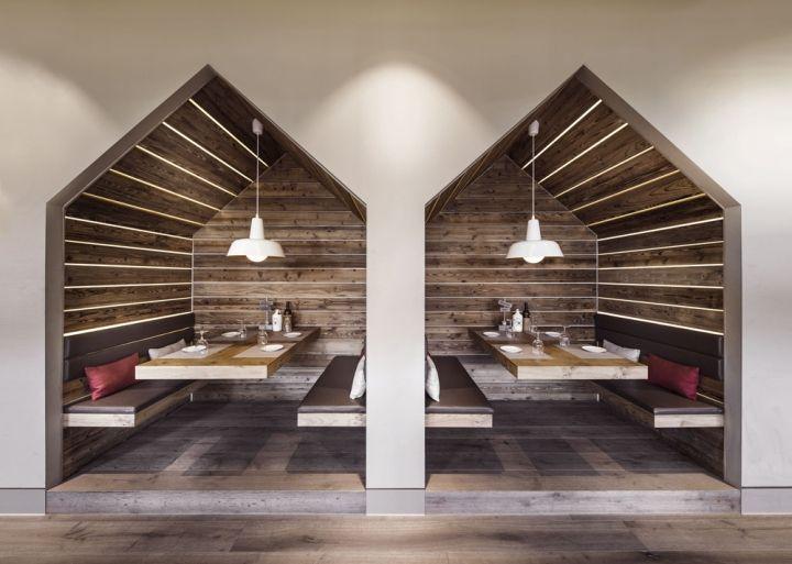 Sansibar by Breuninger restaurant by DITTEL   ARCHITEKTEN, Düsseldorf hotels and restaurants