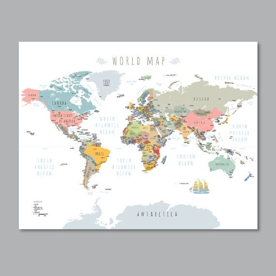 Site Map Digital: 25+ Unique World Maps With Countries Ideas On Pinterest