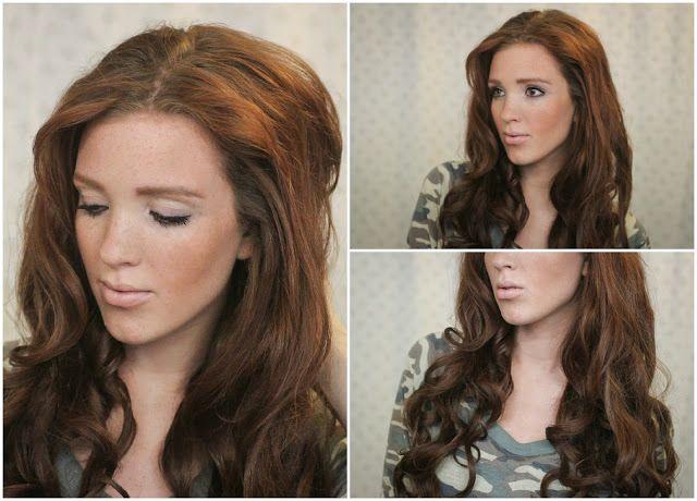 The Freckled Fox: 'The Basics' Hair Week, Tutorial #7: Hot Roller Curls