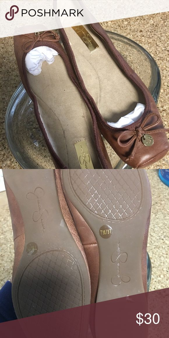 Jessica Simpson Ballet Flats These haven't been worn but have been in my closet 2 years.  7M Jessica Simpson Shoes Flats & Loafers