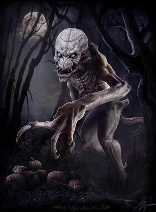 Pumpkinhead ... I used to think this was one of the scariest movies I'd ever seen ... Until I watched it with my adult boys. Wasn't near as scary without Daddy throwing stuff across a dark room at me ... LOL <3