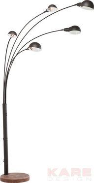 Floor Lamp Five Fingers Rusty