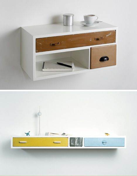 recycled drawers