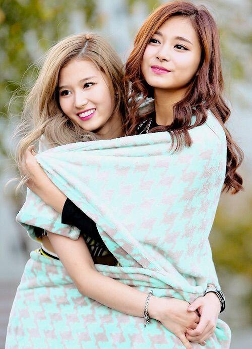 Tzuyu and Sana - Twice